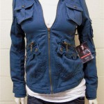 BB Dakota Twilight Bella Leigh Jacket in Lake Blue