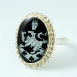 Cullen Crest Twilight New Moon 925 Sterling Silver Ring