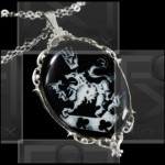 Cullen Family Crest Necklace Rosalie Twilight Alice 925