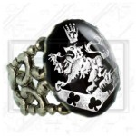 Cullen Family Crest Twilight New Moon Bella Esme Ring