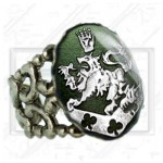 Cullen Family Crest Twilight New Moon Bella Esme Ring green