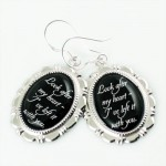Edward Cullen Look After Heart Twilight Charm Earrings