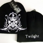 NEW BLACK TWILIGHT CULLEN CREST LOGO BEANIE HAT CAP