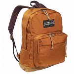 NEW JanSport Bella TWILIGHT Backpack Right Pack ORANGE