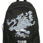NWT Twilight Team Edward Cullen Crest Backpack Bag