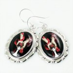 New Moon Breaking Dawn Twilight Eclipse Alice Earrings