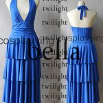 Replica Twilight Bella Swan Blue Prom Dress Costume