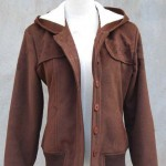 Replica Twilight Bella Swan Brown Wool Jacket Coat