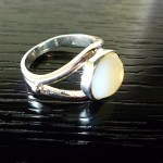 Twilight BELLA swan MOONSTONE RING Cullen Vampire Xmas