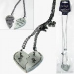Twilight BROKEN HEART NECKLACE Valentine Gift New Moon