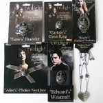 Twilight CULLEN FAMILY Jewelry SET OF 6 Replica Props