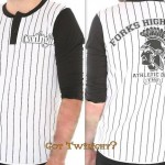 Twilight Forks High School Jersey Baseball T Shirt