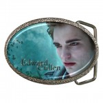 Twilight New Moon Edward Cullen Chrome Belt Buckle