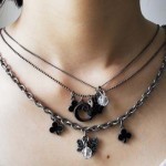 Twilight New moon Cullen Triple Chain Charm Necklace