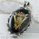 Volturi Coven Seal Crest Art Twilight New Moon Necklace